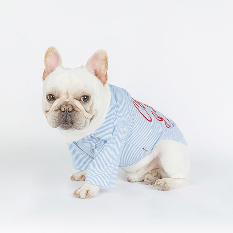 Club Garcon Light Denim Dog Shirt