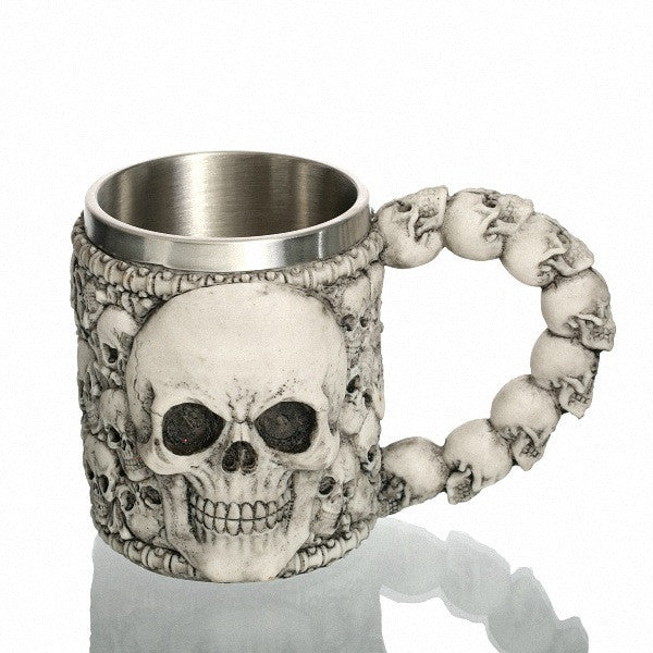 Bad To The Bone Skull Mug