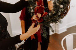 Winter Wreath Making with Eve Floral Co. - Thursday December 12th from 6-8pm