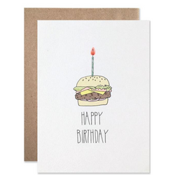 Hartland Brooklyn - Birthday Burger Card