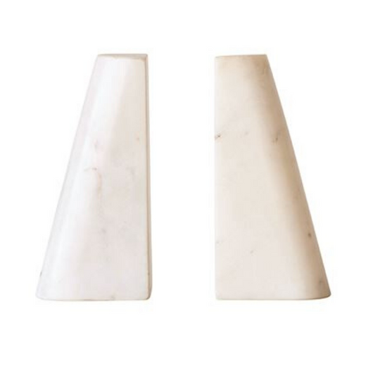 Bloomingville - Marble Bookends, Set of 2