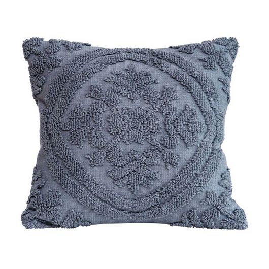 Bloomingville - Square Cotton Chenille Pillow
