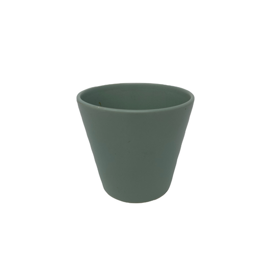 Ceramic Mint Green Plant Pot
