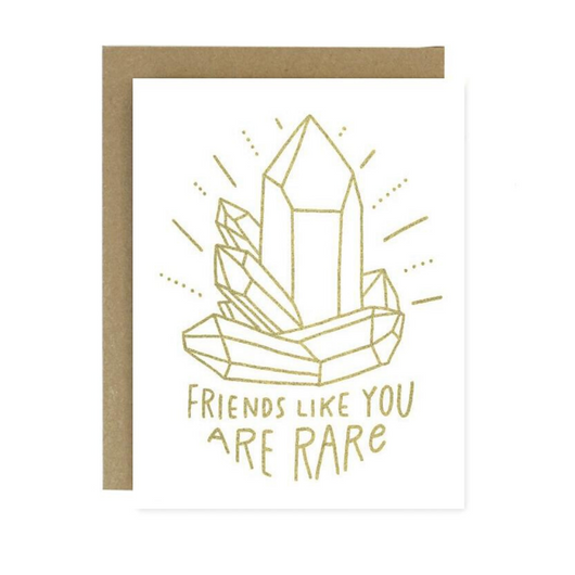 Worthwhile Paper - Friends Like You Crystal Card