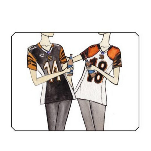 Whodrew - Girlfriends, Bengals Fans Card