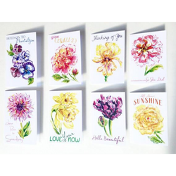 Grey Hall Design - Single Flower Garden Card