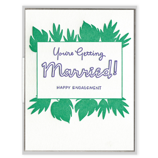 INK MEETS PAPER - Getting Married Card