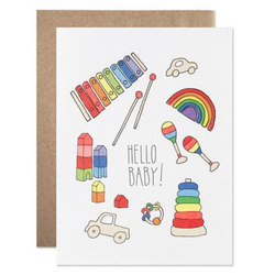 Hartland Brooklyn - Hello Baby Card