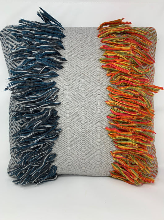 Foreside - Hand Woven Cushion Pillow
