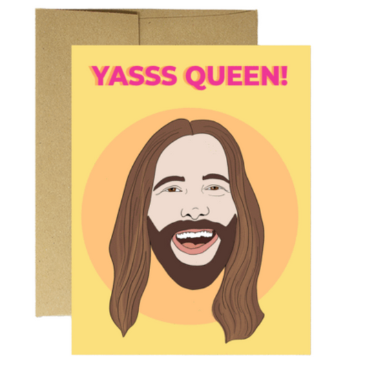 Party Mountain Paper Co. - JVN Yas Queen Card