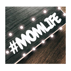 GRLPWRvinyl - #MOMLIFE Vinyl Decal Sticker
