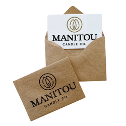 Manitou Candle Co. Physical Gift Card