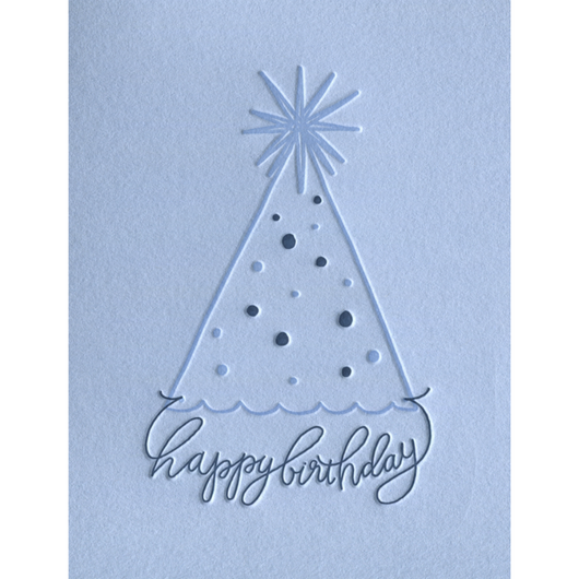 INK MEETS PAPER - Party Hat Birthday Card