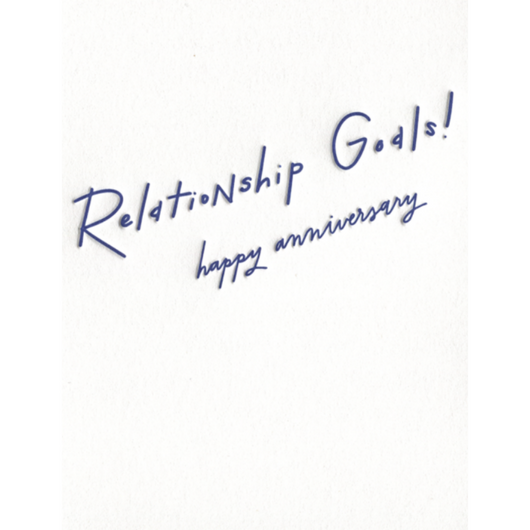 INK MEETS PAPER - Relationship Goals! Anniversary Card