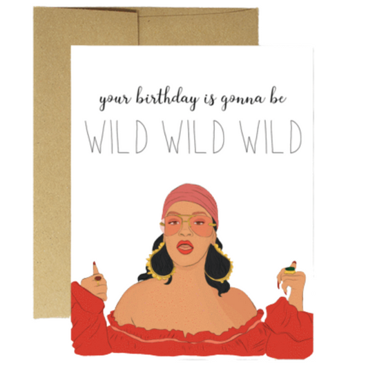 Party Mountain Paper Co. - Rihanna Wild Wild Wild Card