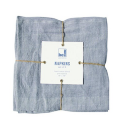 Be Home - Linen Napkin, Set of 4