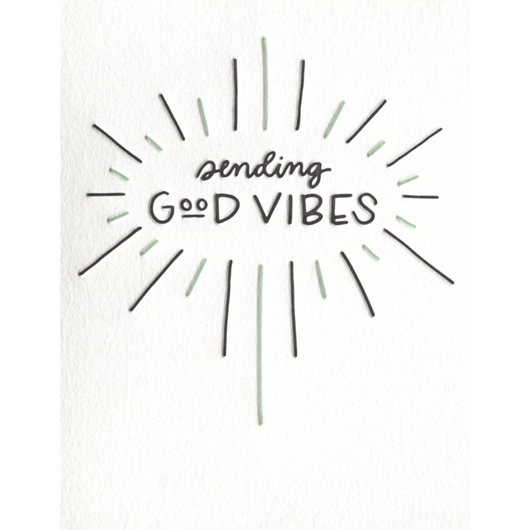 INK MEETS PAPER - Sending Good Vibes Card