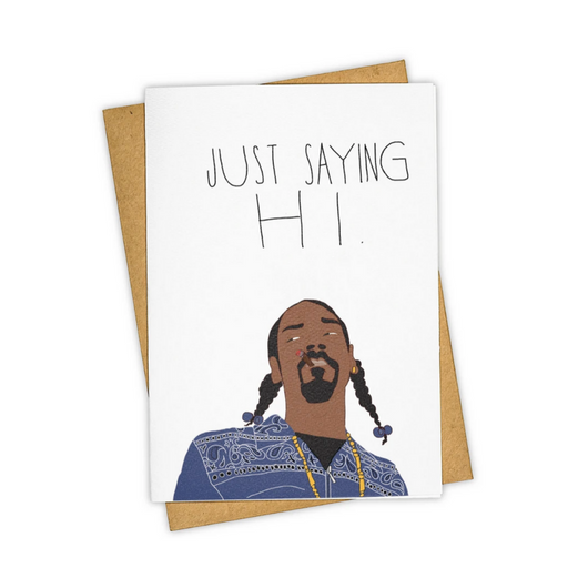 Tay Ham - Snoop Braids Card