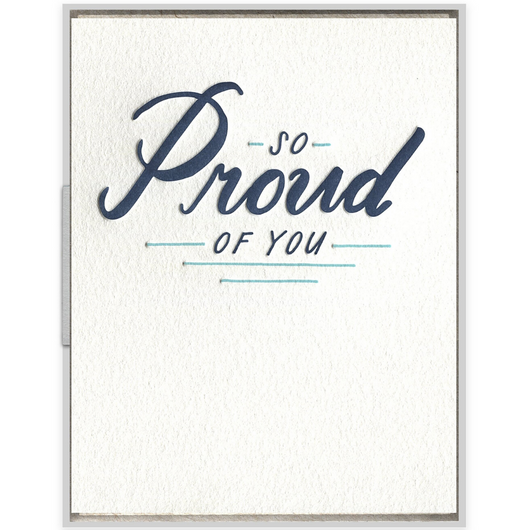 INK MEETS PAPER - So Proud of You Card