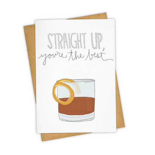 Tay Ham - Straight Up Friends Card