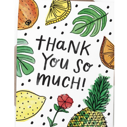 Handzy Shop + Studio - Thank You So Much Card