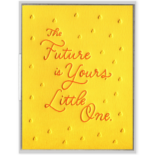 INK MEETS PAPER - The Future Is Yours Little One Card