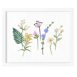 Rifle Paper Co. - Wildflowers Art Print Framed