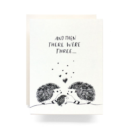 Antiquaria - Baby Hedgehog Greeting Card