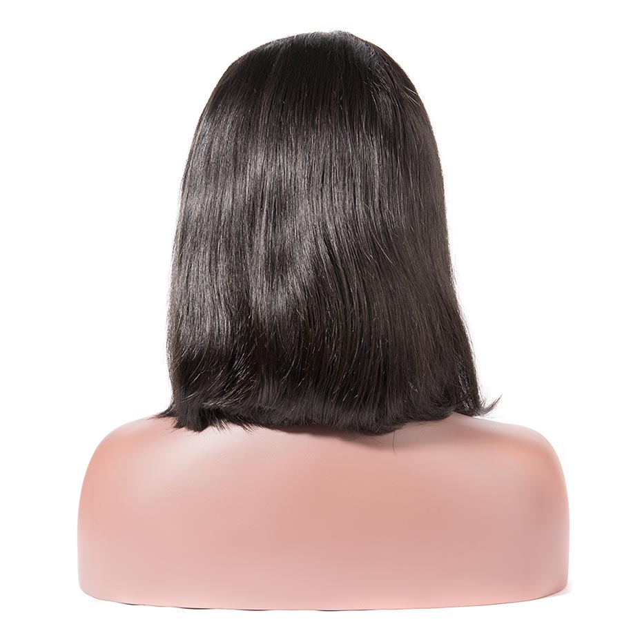 Silky Straight Bob - Short Lace Wig
