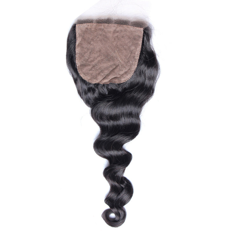 loose wave silk base closure