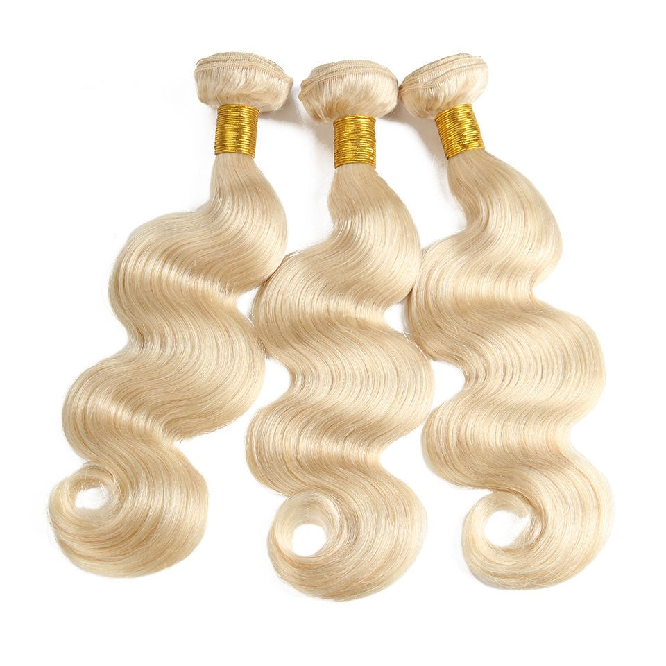 blonde body wave brazilian hair bundles