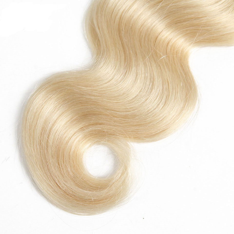 blonde virgin hair bundles
