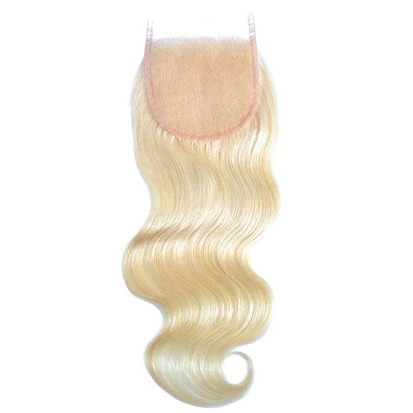 blonde hair lace closure