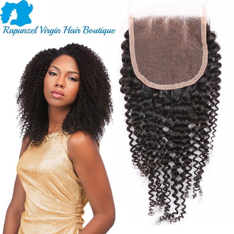 Lace Closure - Kinky Curly