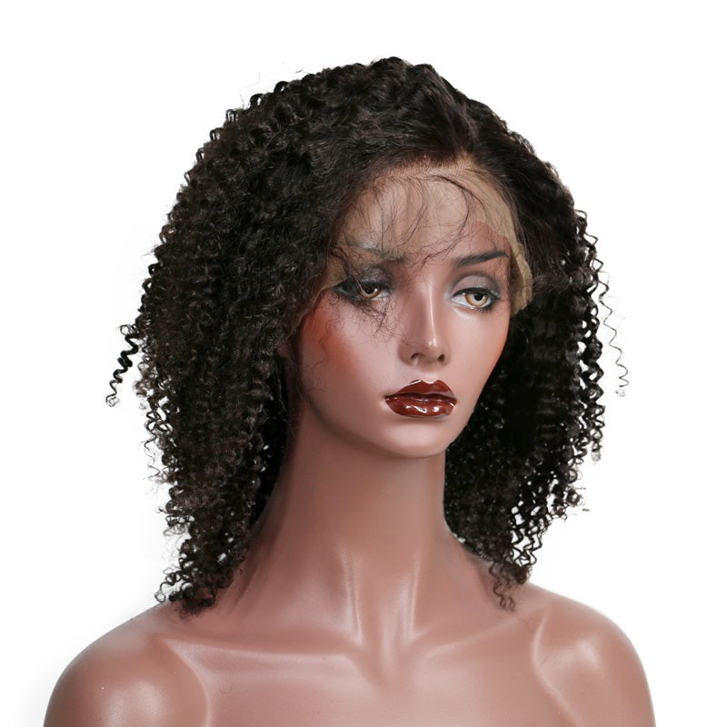 Kinky Curly Bob - Short Lace Wig