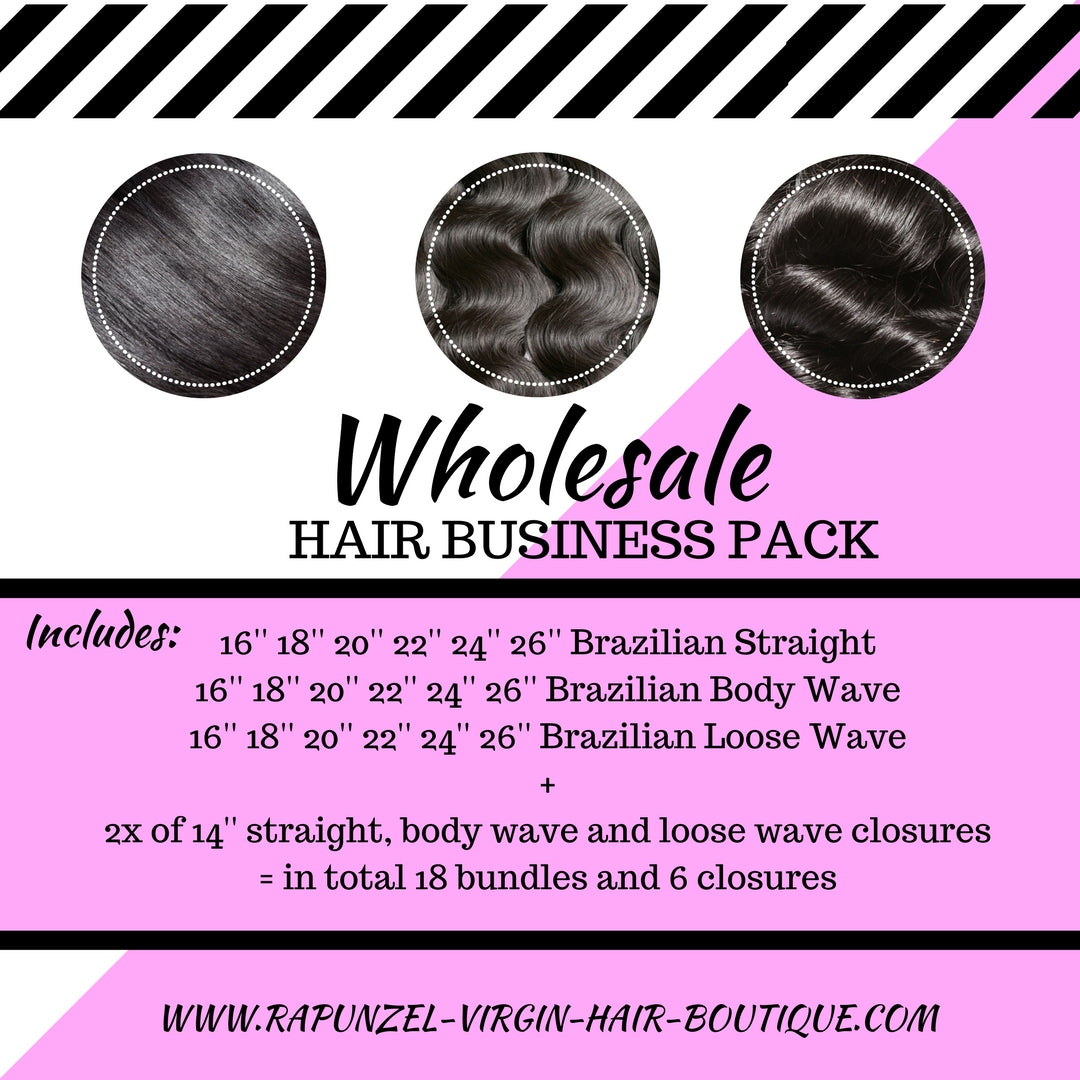 Wholesale Hair Business Pack