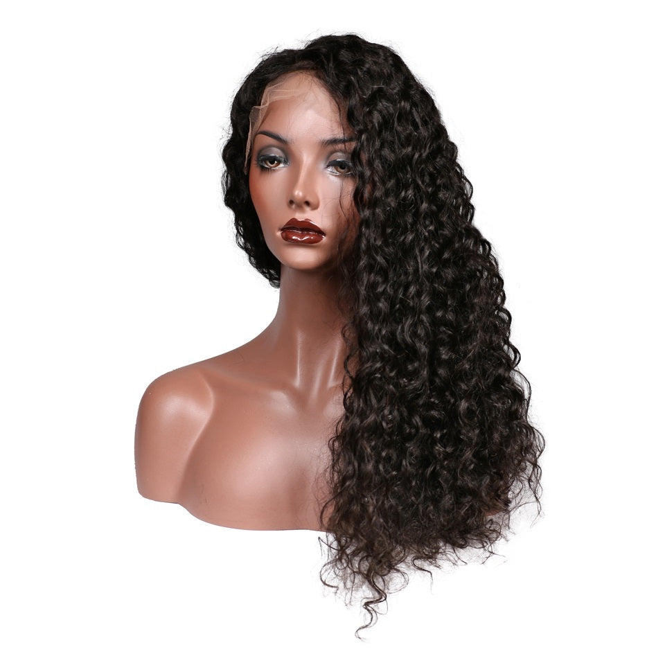Rapunzel's Design Deep Wave Human Hair Wig