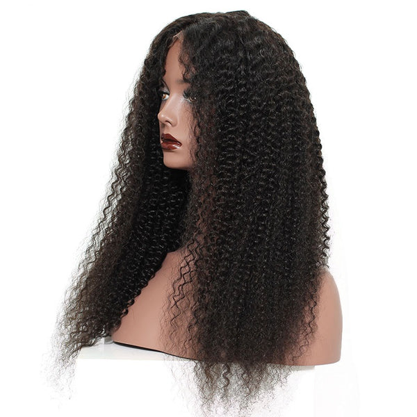 Rapunzel's Design Kinky Curly Lace Front Wig