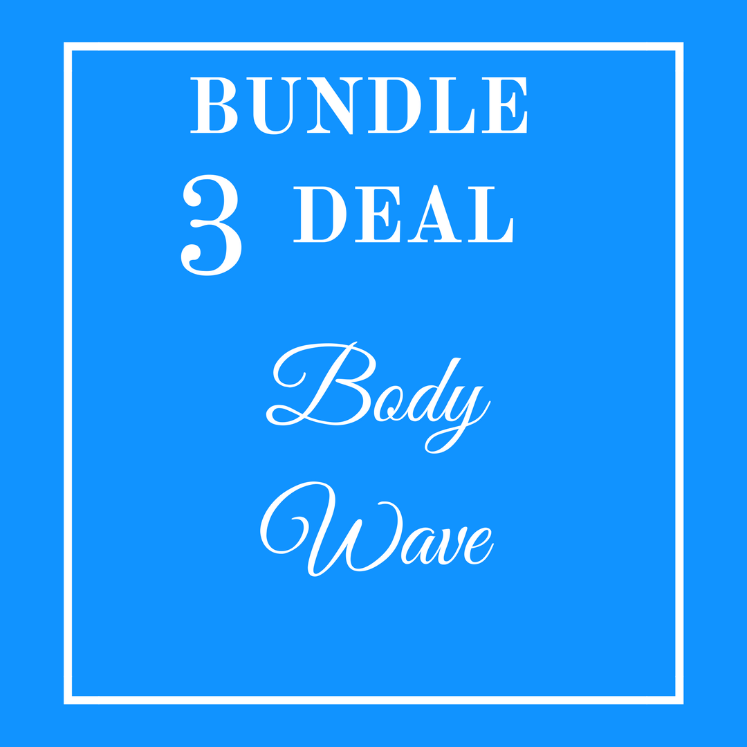 3 Bundle Deal - Brazilian Body Wave