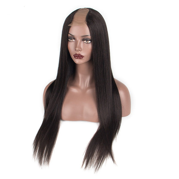 Silky Straight U-Part Wig