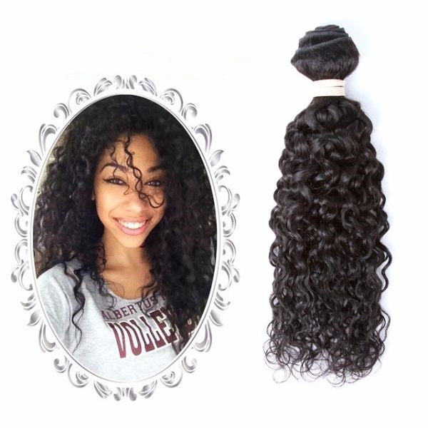 water wave virgin hair weave