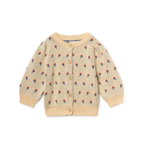Flowers Cardigan - Bobo Choses - Str. 62-98 - OrganicFootsteps