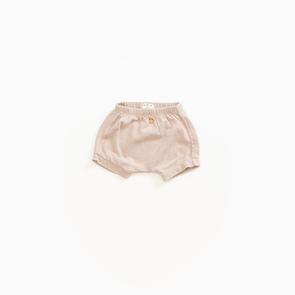Fleece Flame Shorts - Sand - PlayUp - OrganicFootsteps
