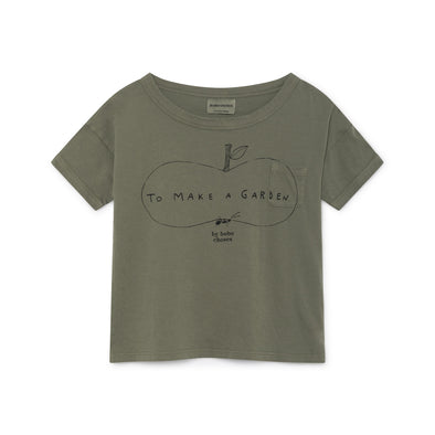 Ant And Apple Short Sleeve T-Shirt - Junior - Str. 92-146 - Bobo Choses - OrganicFootsteps