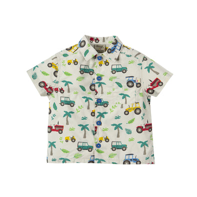 Harvey Hawaiian Shirt - Frugi - OrganicFootsteps