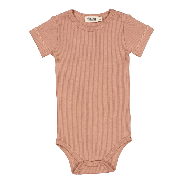 Body - Modal - Kortærmet - Rose Brown - MarMar