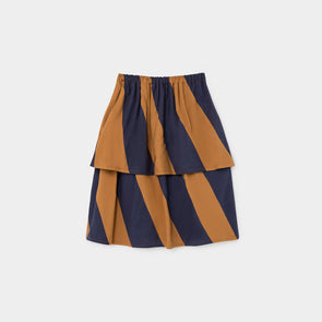 Big Stripes Midi Nederdel - Str. 92-146 - Bobo Choses - OrganicFootsteps