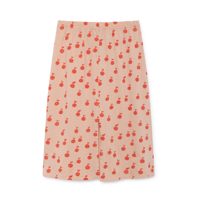Apples Pencil Skirt - Bobo Choses - Str. 92-134 - Sart Rosa og Rød - OrganicFootsteps