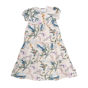 Spicy Botany Dress - Cream - Muesli - OrganicFootsteps