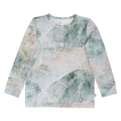 Spicy Marble T-Shirt - Muesli - OrganicFootsteps